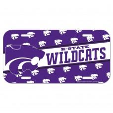 Kansas State University Wildcats License Plate