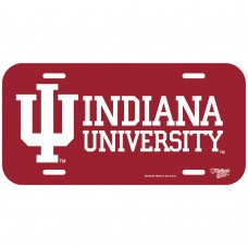 Indiana University License Plate