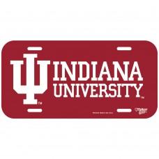 Indiana University License Plate