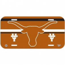 Texas University of License Plate