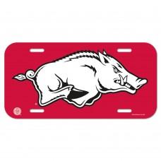 Arkansas University of License Plate