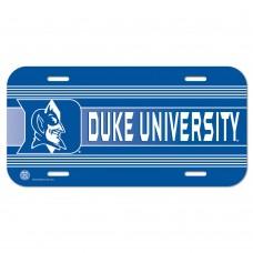 Duke University License Plate