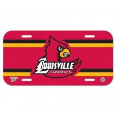Louisville University of License Plate