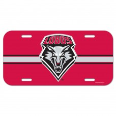 New Mexico University of License Plate