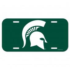 Michigan State University License Plate