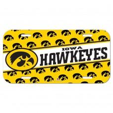 Iowa University of License Plate