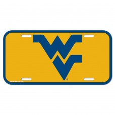 West Virginia University of License Plate