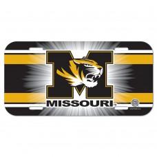 Missouri University of License Plate