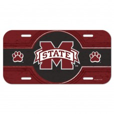 Mississippi State University License Plate