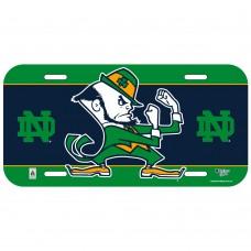 Notre Dame Mascot License Plate