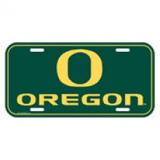 Oregon University of License Plate