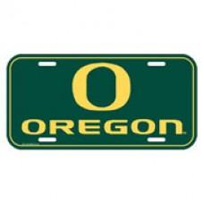Oregon University of License Plate