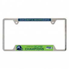Seattle Seahawks Metal License Plate Frame
