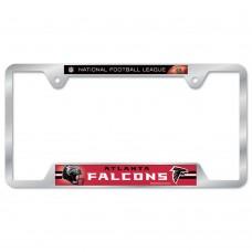 Atlanta Falcons Metal License Plate Frame