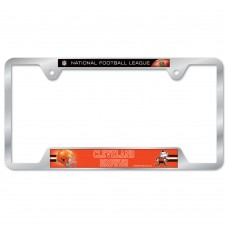 Cleveland Browns Metal License Plate Frame