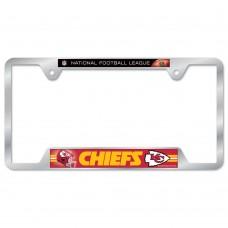 Kansas City Chiefs Metal License Plate Frame