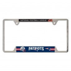 New England Patriots Metal License Plate Frame