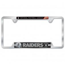 Oakland Raiders Metal License Plate Frame