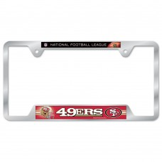 San Francisco 49ers Metal License Plate Frame