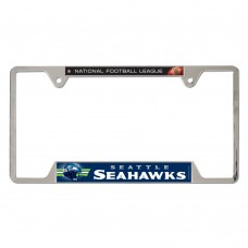 Seattle Seahawks Blue Bg Metal License Plate Frame