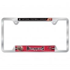 Tampa Bay Buccaneers Metal License Plate Frame