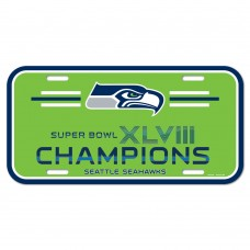 Seattle Seahawks Champions License Plate