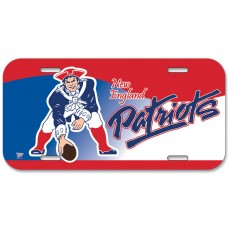 New England Patriots Mascot License Plate