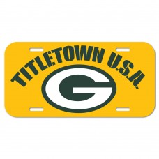 Green Bay Packers Titletown License Plate