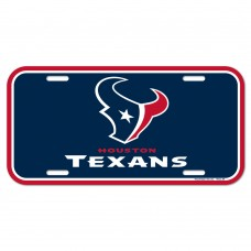 Houston Texans License Plate