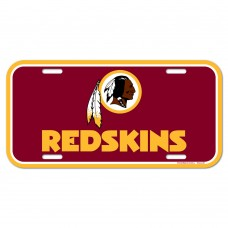 washington redskins license plate