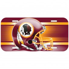Washington Redskins Helmet License Plate