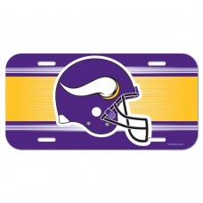 Minnesota Vikings Helmet License Plate