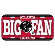 Atlanta Falcons Helmet License Plate