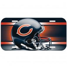 Chicago Bears Helmet License Plate