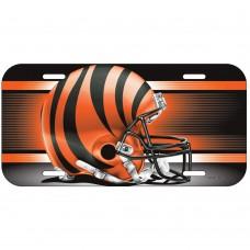 Cincinnati Bengals Helmet License Plate