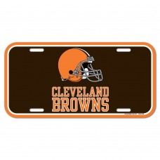 Cleveland Browns License Plate
