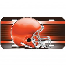 Cleveland Browns Helmet License Plate