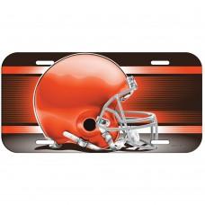 Cleveland Browns Helmet License Plate
