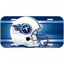 Tennessee Titans Helmet License Plate