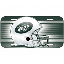 New York Jets Helmet License Plate