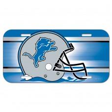 Detroit Lions Helmet License Plate