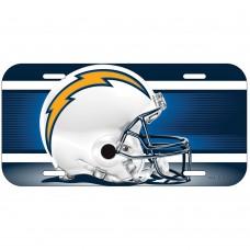 San Diego Chargers Helmet License Plate