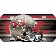 Tampa Bay Buccaneers Helmet License Plate
