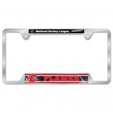 Calgary Flames Metal License Plate Frame