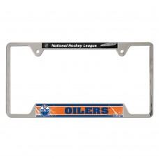 Edmonton Oilers Metal License Plate Frame