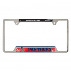Florida Panthers Metal License Plate Frame