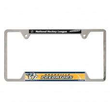 Nashville Predators Metal License Plate Frame