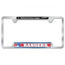 New York Rangers Metal License Plate Frame