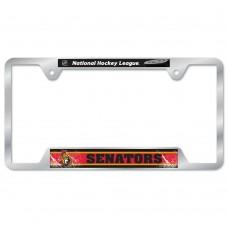 Ottawa Senators Metal License Plate Frame