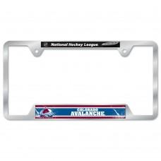Colorado Avalanche Metal License Plate Frame